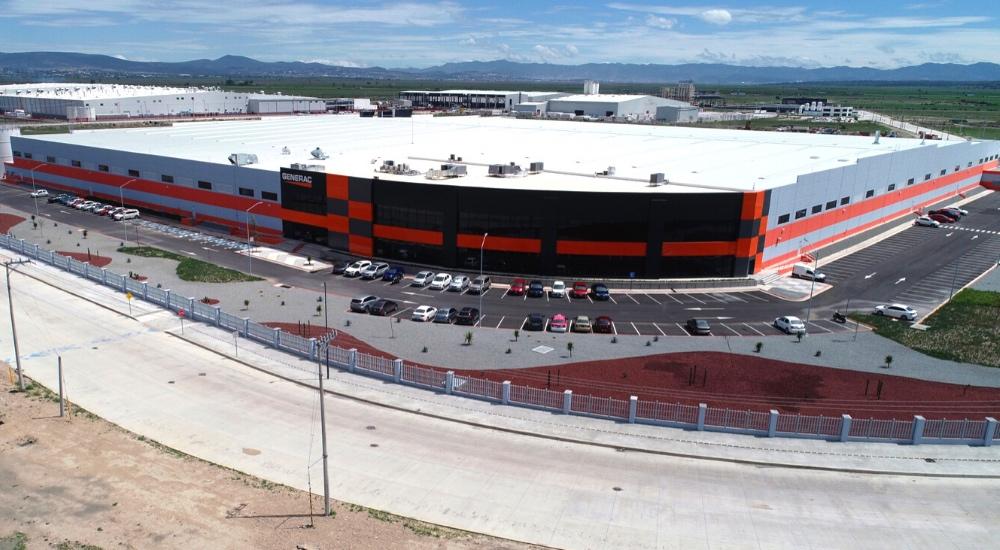 Fabricación de equipo eléctrico en Hidalgo: el éxito de Generac