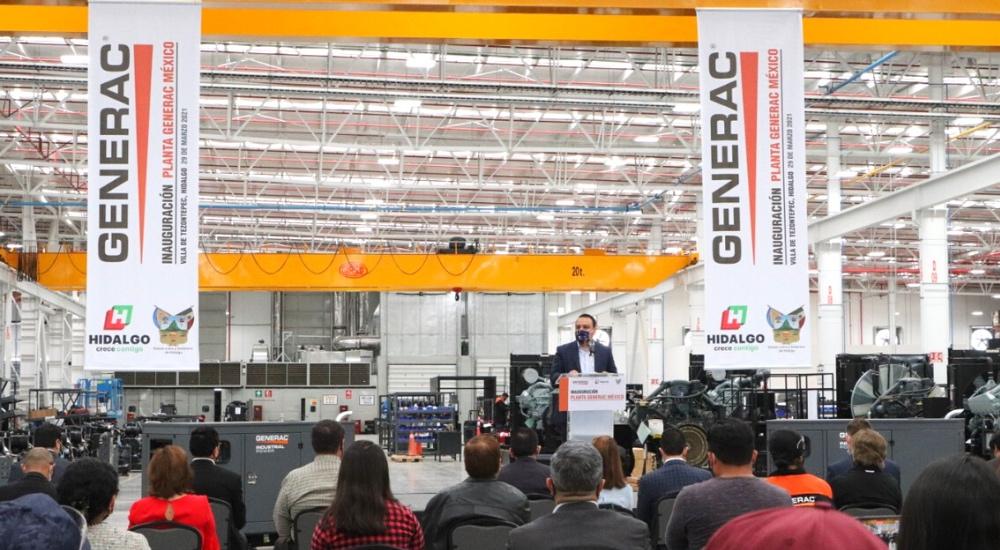 Inaugura Generac su nueva planta en parque industrial Platah